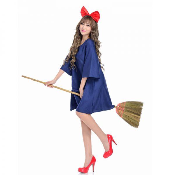 Cute Girls Kiki Cosplay Women Fancy Dress