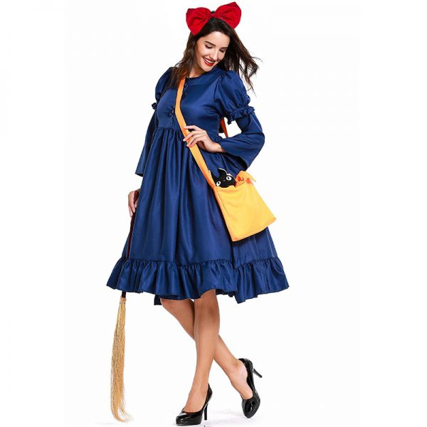 New Adult Anime KiKis Delivery Service Dress