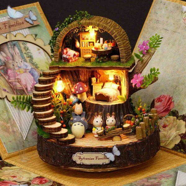 DIY Cottages Music Box My Neighbor Totoro