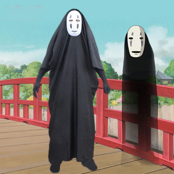 3pcs Anime Cosplay No Face Man