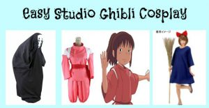 Easy Studio Ghibli Cosplay