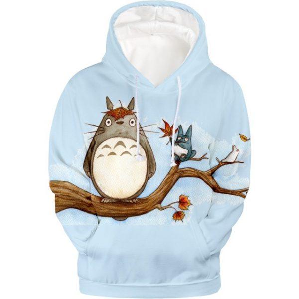 Hot 3D Totoro Studio Ghibli Hoodie