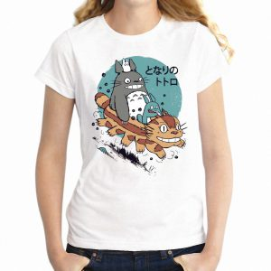 Totoro Forest Spirit Catbus T-shirt