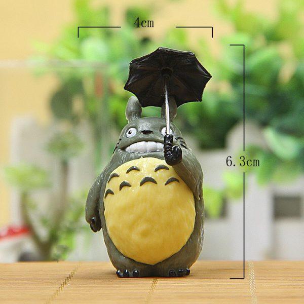 6.3cm Totoro With Umbrella PVC