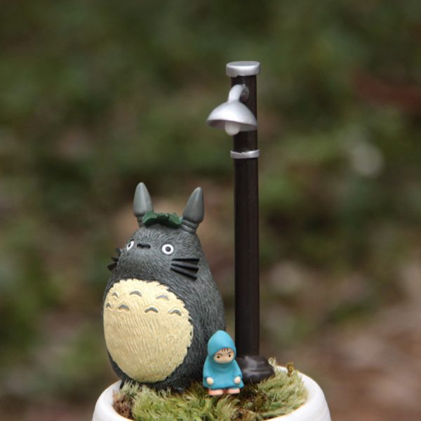 3pcs/lot My Neighbor Totoro Mei/May Street Lamp