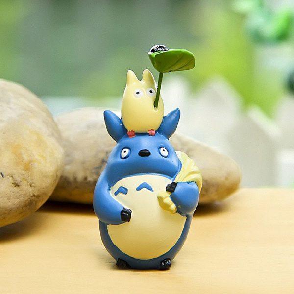 My Neighbor Totoro Blue Figurines