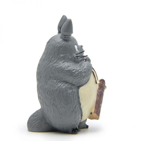 7cm Totoro With Wood Figurines