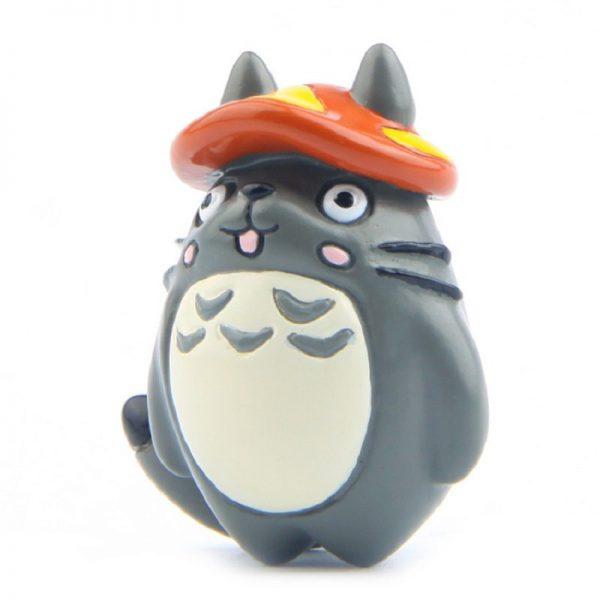 Head of Mushrooms Totoro Micro Landscape