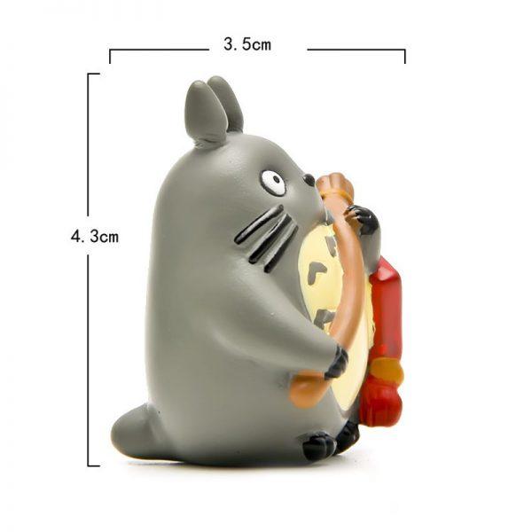 4pcs/lot Studio Ghibli Toy Totoro Cosplay New Year