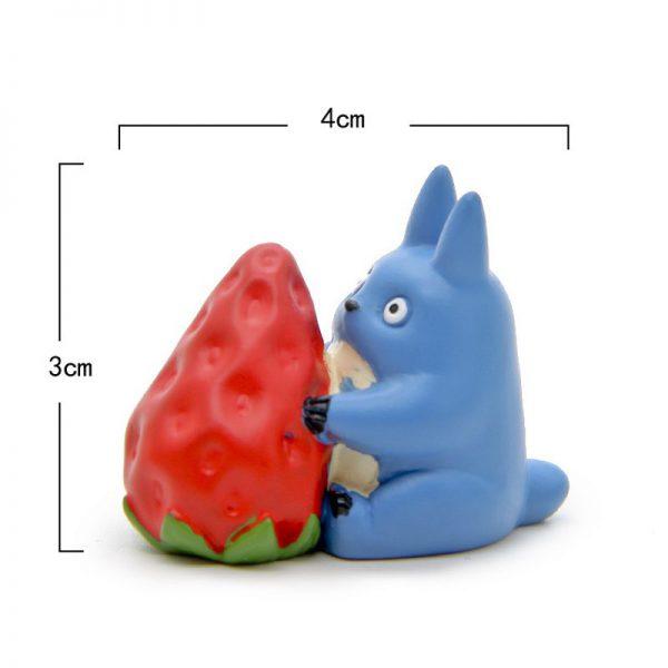 DIY Strawberry My Neighbor Totoro Figurines