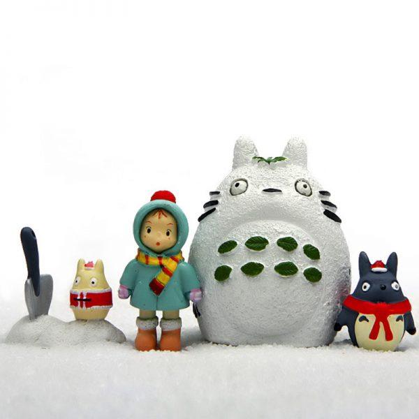 Winter Style My Neighbor Totoro Figurines Full Set