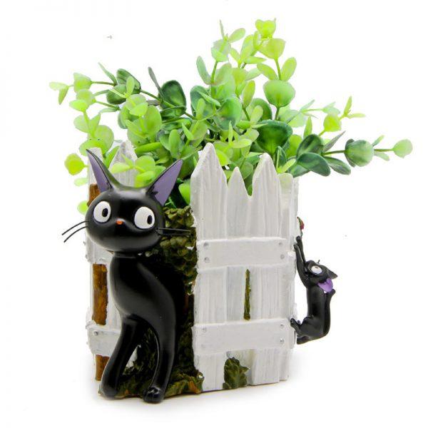 1pcs Studio Ghibli Kiki Cat Flower