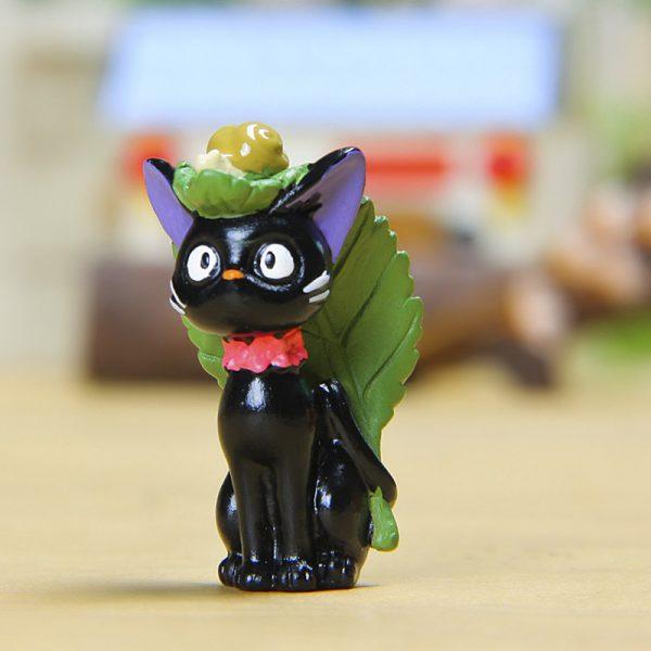 DIY Studio Ghibli JiJi Cat With Leaves
