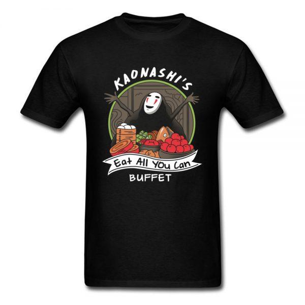 Spirited Away No Face Summer T-shirt