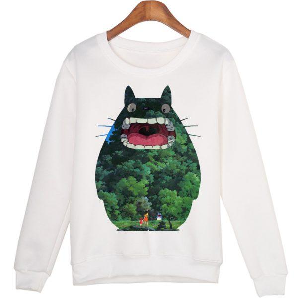 Unique Totoro Women Sweatshirts