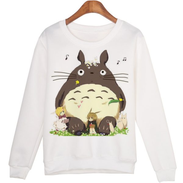 New Cute Totoro Style Sweatshirts