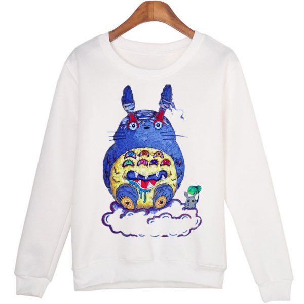 Cute Totoro Blue Sweatshirts