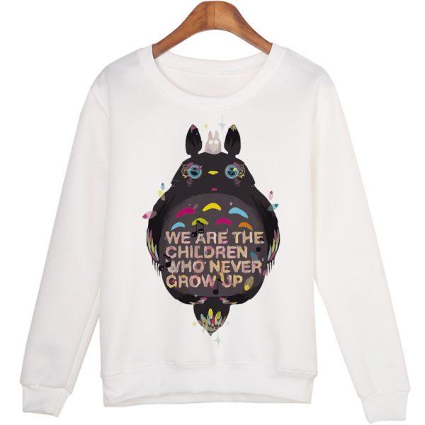 Unique Black Totoro Sweatshirts