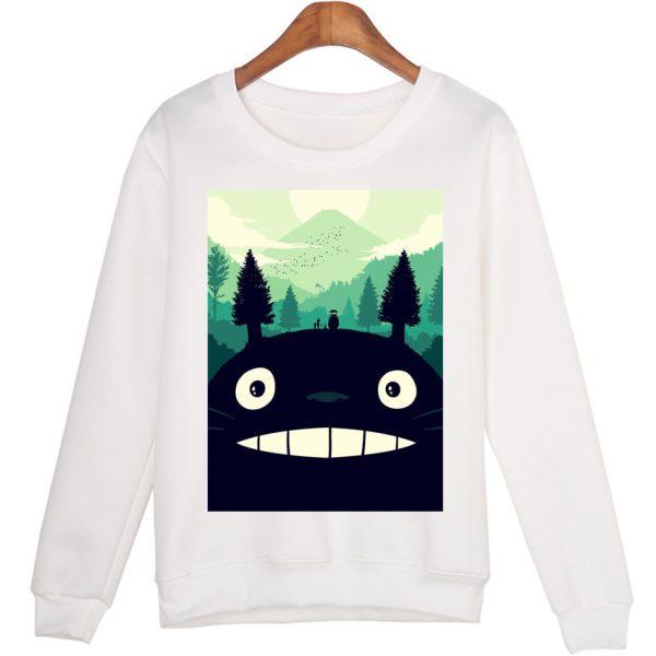 Black Totoro Cool Sweatshirts