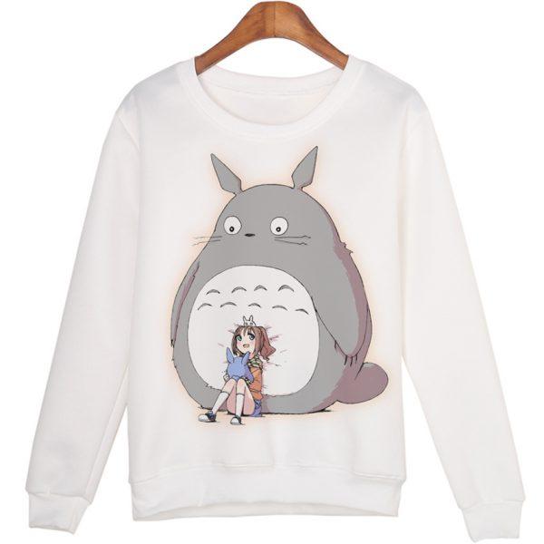 Totoro With Friend Sweatshirts