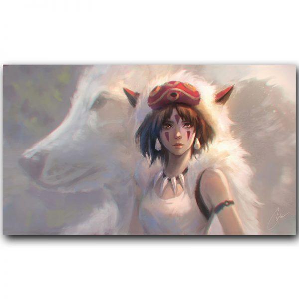 Gorgeous Princess Mononoke Movie Poster
