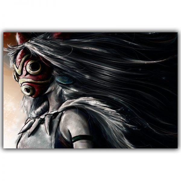 Wild Princess Mononoke Movie Poster