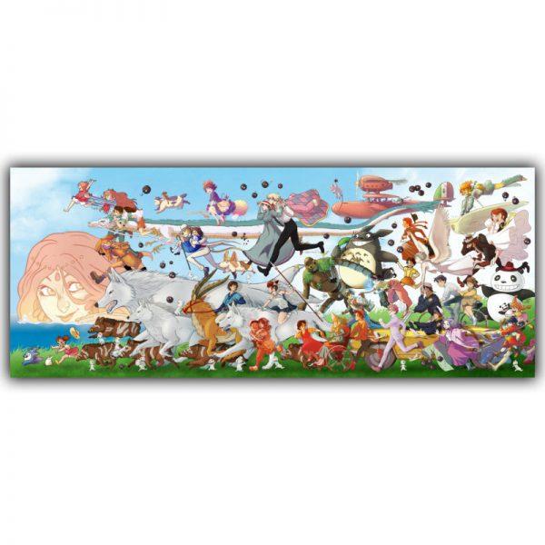 Studio Ghibli Wall Decor 2021