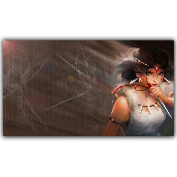 Princess Mononoke 2020 Posters Canvas Wall