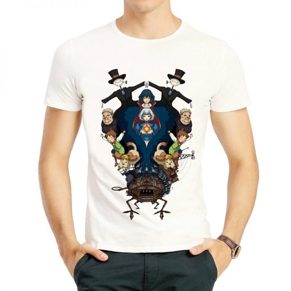 Howl's Moving Castle Style T-shirt New 2021