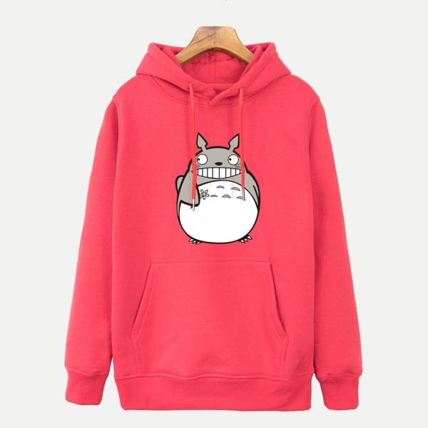 Cute Totoro Smile Hoodie