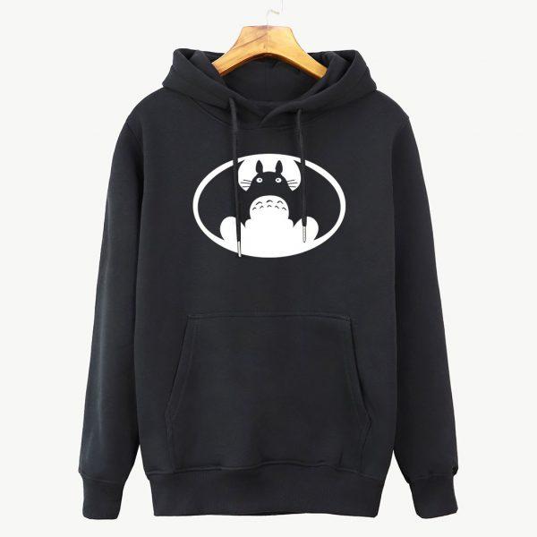 Fashion Autumn Batman VS Totoro Hoodie