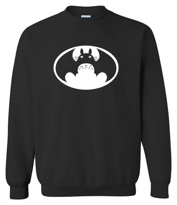 Totoro VS Batman Men Sweatshirt