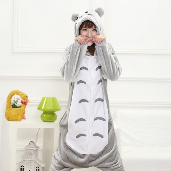 Grey Totoro Onesie For All Ages