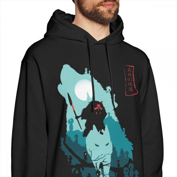 Princess Mononoke Hoodies Casual Streetwear