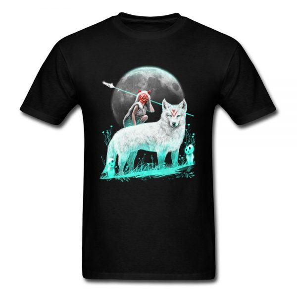 Princess Mononoke & Wolf Men T-shirt
