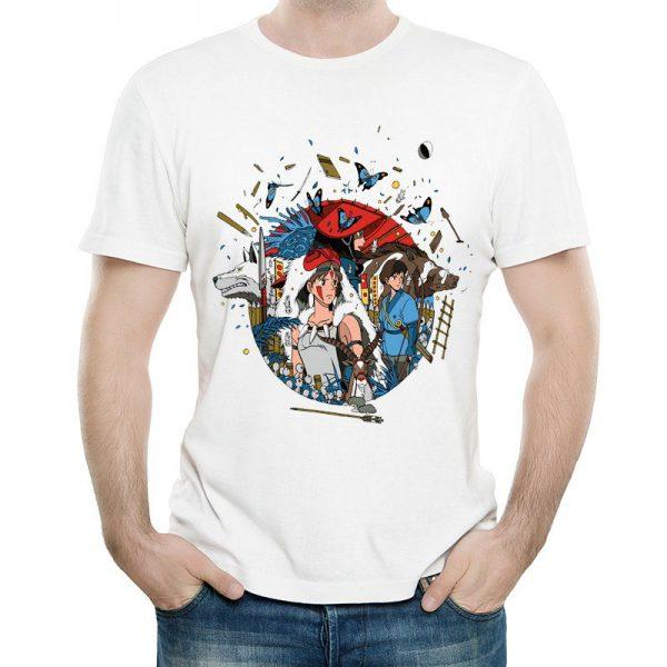 Princess Mononoke T-shirt Fashion 2021
