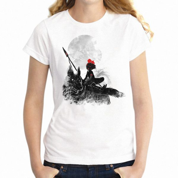 Black Princess Mononoke Women's T-shirt