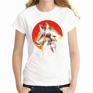 Women's T-shirt Sunrise Princess Mononoke