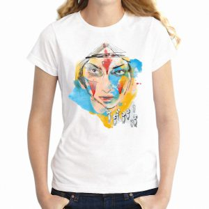 Colorful Princess Mononoke Women's T-shirt