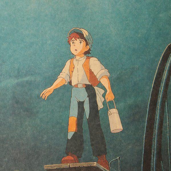 Laputa Castle In The Sky Anime Kraft Paper Poster