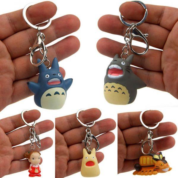 Cute My Neighbor Totoro PVC Keychain 2021