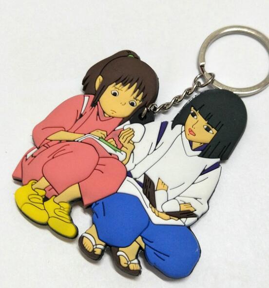 Spirited Away Chihiro & HaKu Keychain
