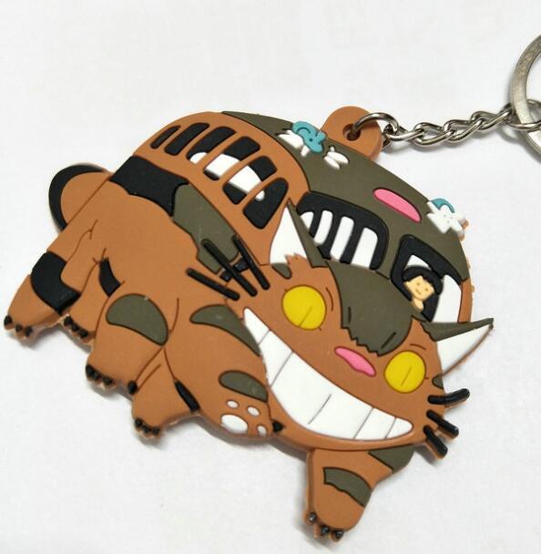 New Cat Bus My Neighbor Totoro Keychain