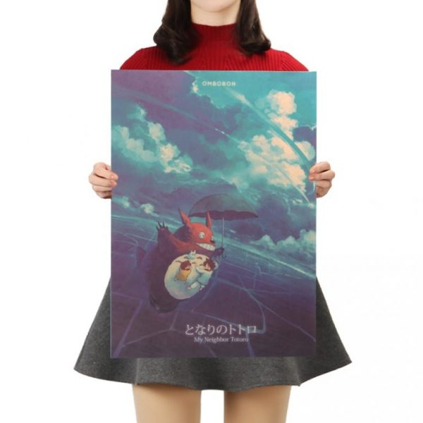 My Neighbor Totoro Kraft Paper Poster
