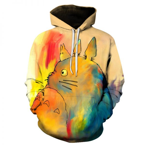 Anime Cute Totoro 3D Hoodie Limited Stocks