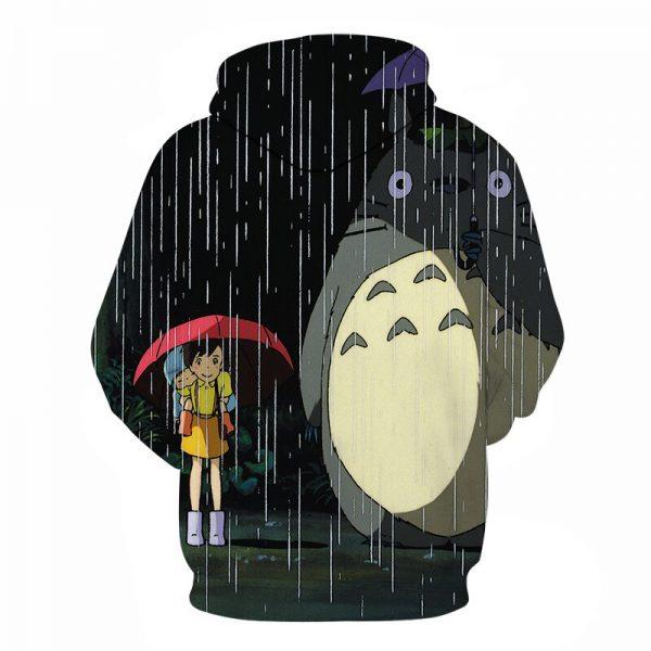 Totoro Vs Mei 3D Unisex Hoodies