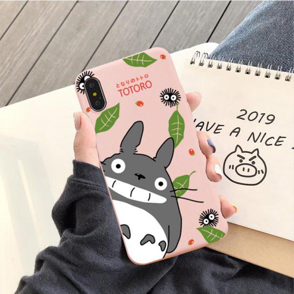 Happy Totoro Phone Case 2021