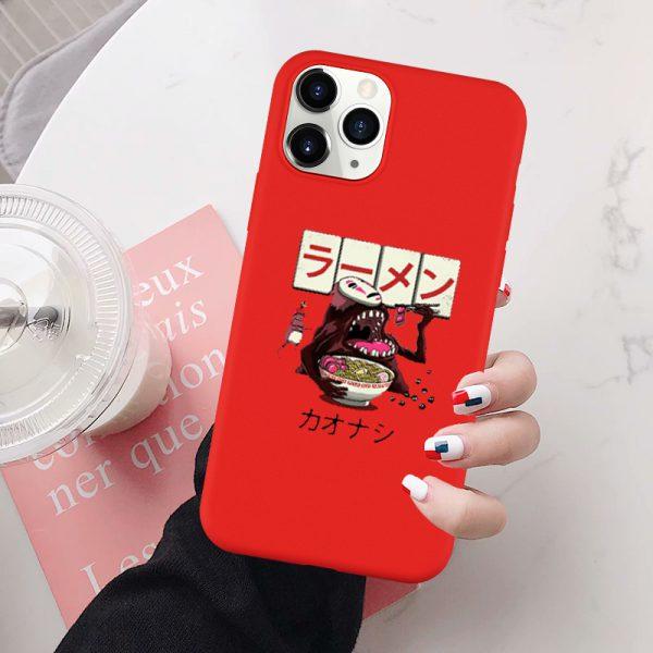 Studio Ghibli Noodles Cat Phone Case