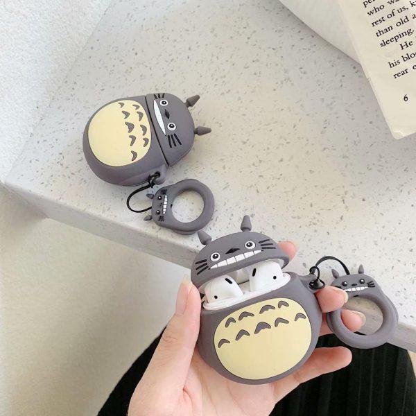 Case for Airpods 3D Cute Kawaii Anime Studio Ghibli