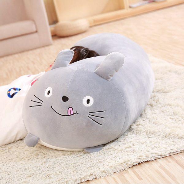 Soft Flat Totoro Plush